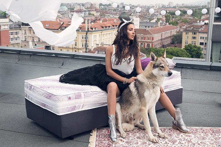 Матрак Nike Star - матрак за градски момичета