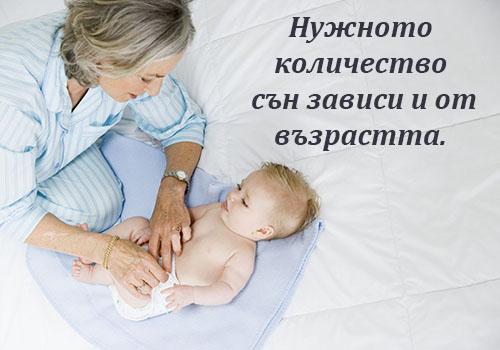 Нужно количество сън спорд възрастта